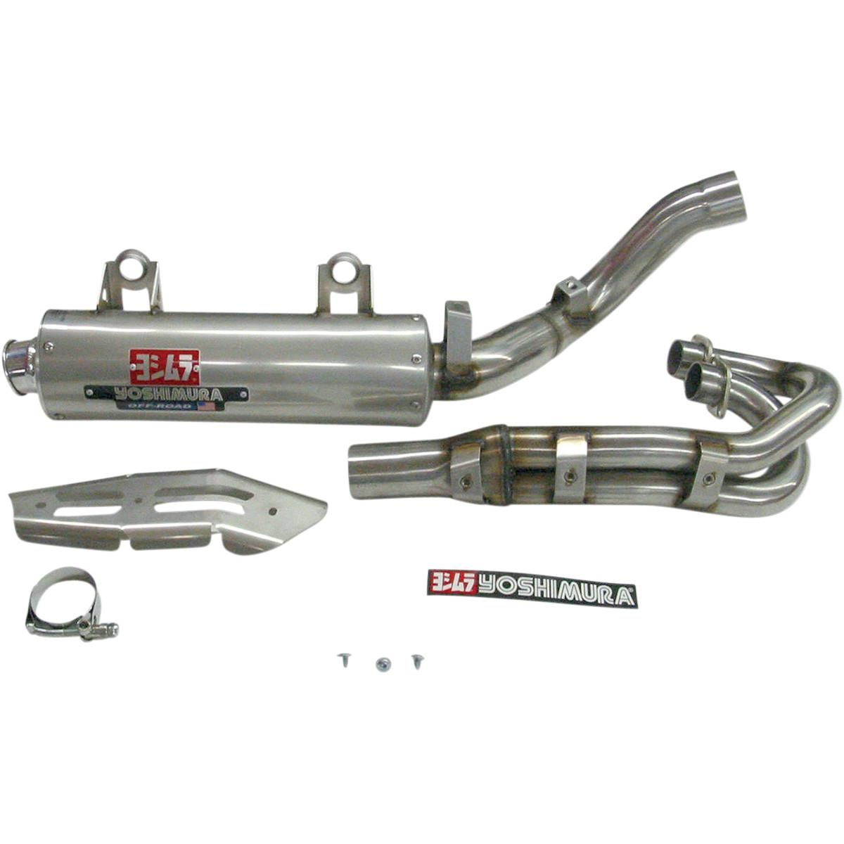 Yoshimura 2550500-SA RS-3 Signature Series Full System - Stainless Steel Muffler