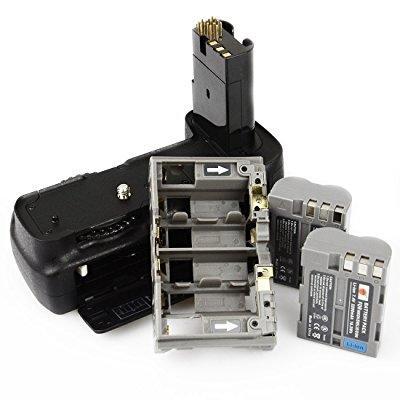 dste pro mb-d200 vertical battery grip + 2x en-el3e for n...