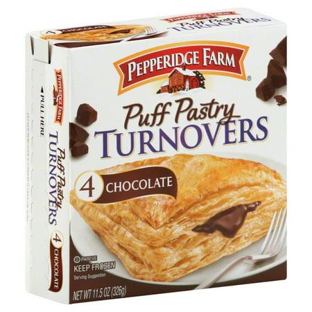 Pepperidge Farm Chocolate Puff Pastry Turnovers 4 Ct 115 Oz