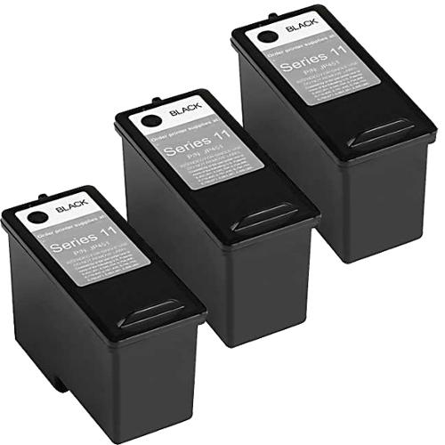 Remanufactured Dell CN594 948/ V505 Series 11 High Capacity Black Ink Cartridges (Pack of 3)