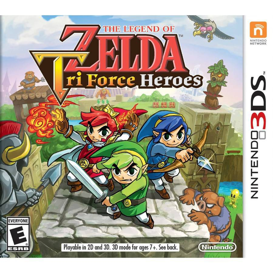 The Legend Zelda Tri Heroes (Nintendo 3DS) - Pre-Owned