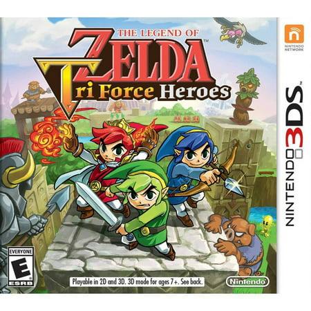 The Legend Zelda Tri Heroes (Nintendo 3DS) -