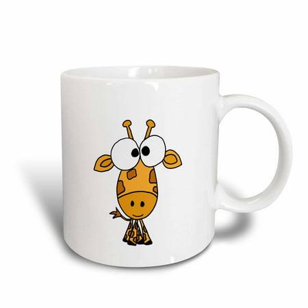 3dRose Funky Giraffe, Ceramic Mug, 11-ounce ()