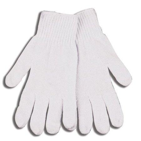 - KINCO 1775-M Men's Heavy Weight Polyester/Cotton Blend String Knit Gloves, Medium, White