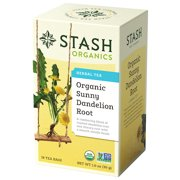 Stash Organic Sunny Dandelion Root Herbal Tea Bags, 18 Count, 1.0 Oz