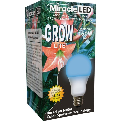 Miracle LED Grow Starter Spectrum Max Hydroponic Grow Light (Set of 2)