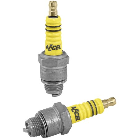 Accel 2401 U-Groove Spark Plugs - 2401 - 2 Qty.
