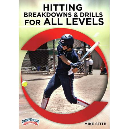 Hitting Breakdowns & Drills for All Levels DVD (Indoor Hitting Drills)
