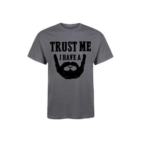 Trust Me I Have a Beard-Mens Funny Novelty Short Sleeve Tee - Novelty Shop Near Me