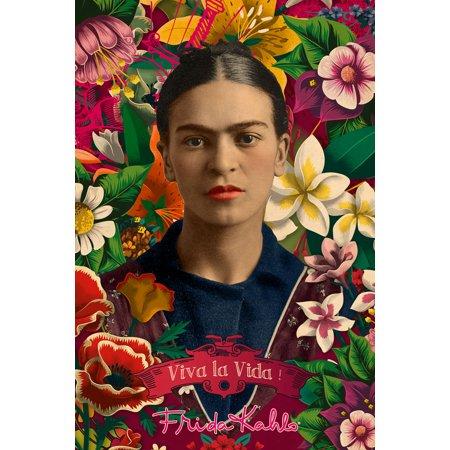 Kahlo Yellow Lab (Frida Kahlo Poster 24