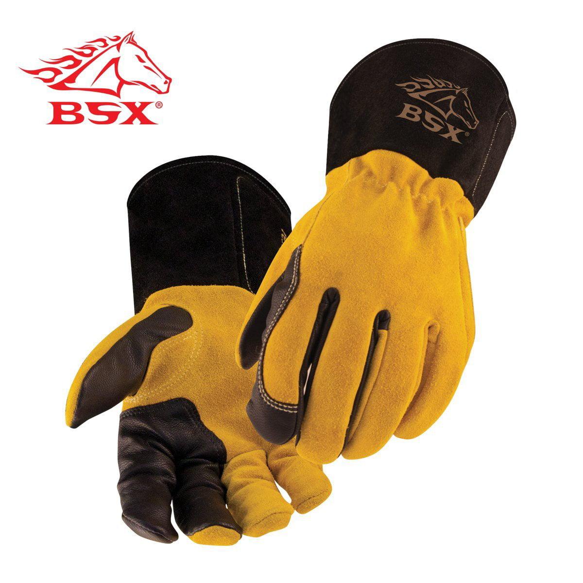 Black Stallion 39 Mighty MIG® Deerskin Premium MIG Welding Gloves