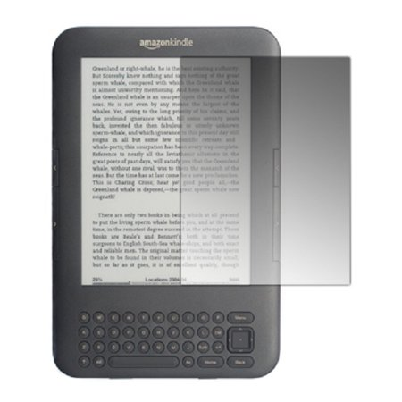 Amazon Kindle 3 Screen Protector Covers, 3 Pack of Screen Protectors for Amazon Kindle 3 ()