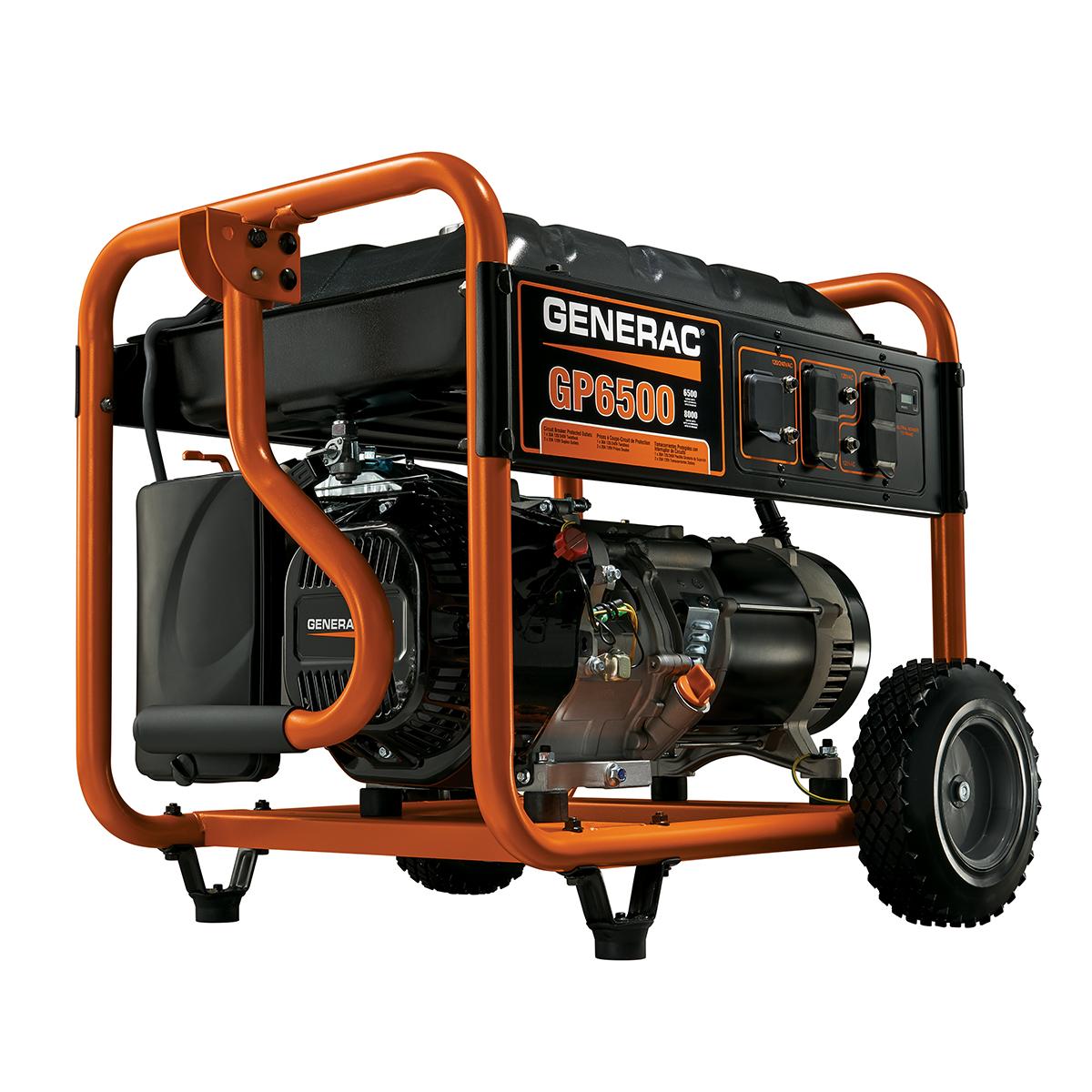 5946 - 6500 Watt Portable Generator, CARB