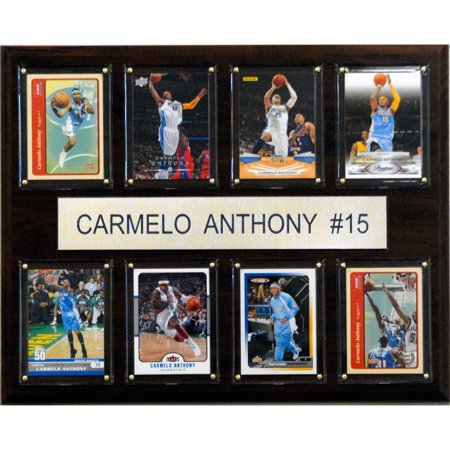 C Collectables Nba 12X15 Carmelo Anthony Denver Nuggets 8 Card Plaque