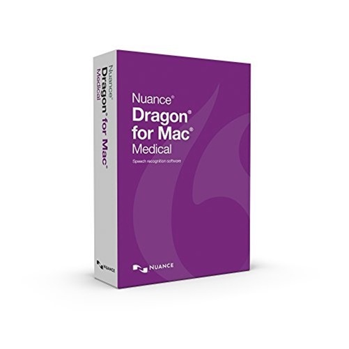NUANCE Dragon v.5.0 for Medical - For Mac T301A-G00-5.0