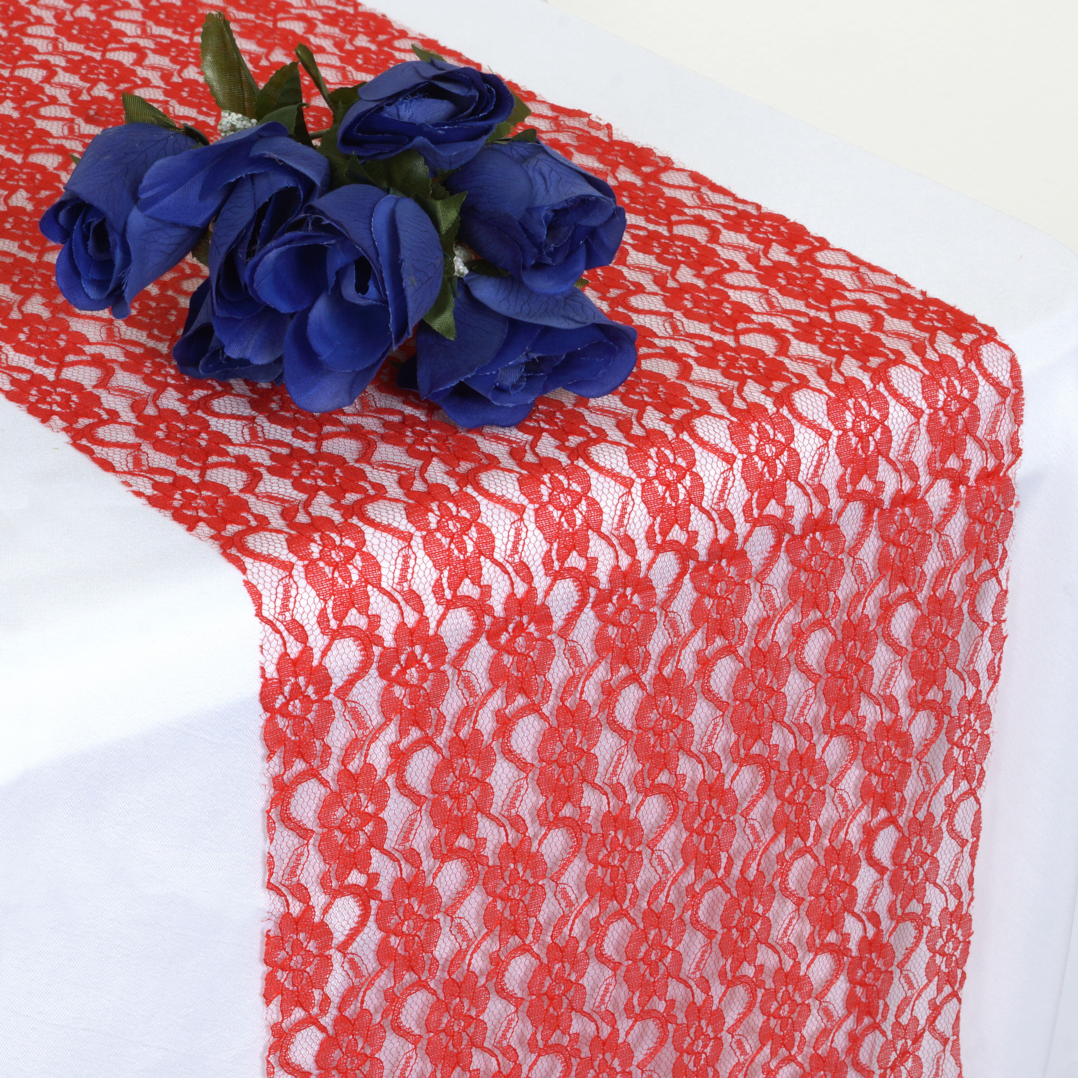 """BalsaCircle 12"""" x 108"""" Floral Pattern Lace Table Top Runner Wedding Party... by BalsaCircle"""