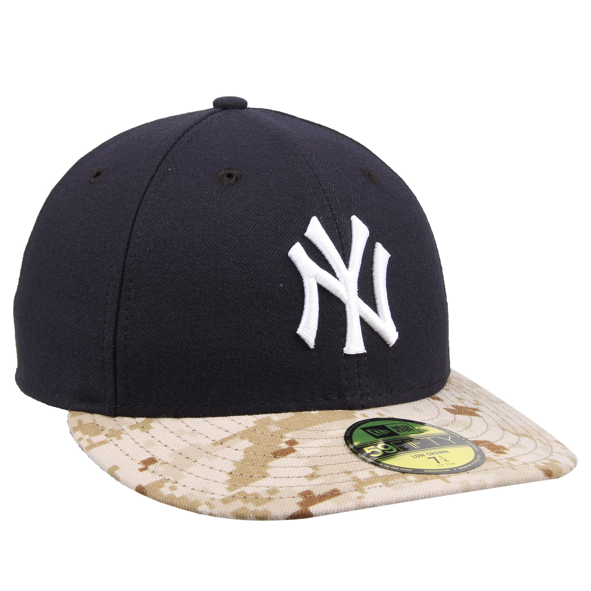 New York Yankees New Era Memorial Day Stars   Stripes On-Field 59FIFTY  Fitted Hat - Navy Camo - Walmart.com 419583cf1486