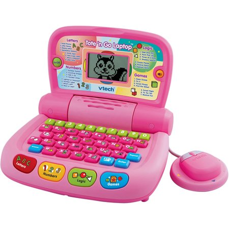 Vtech Language Laptop - VTech Tote & Go Laptop Plus, Pink
