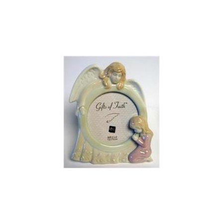Frame-Girl Porcelain Angel-3X3 ()