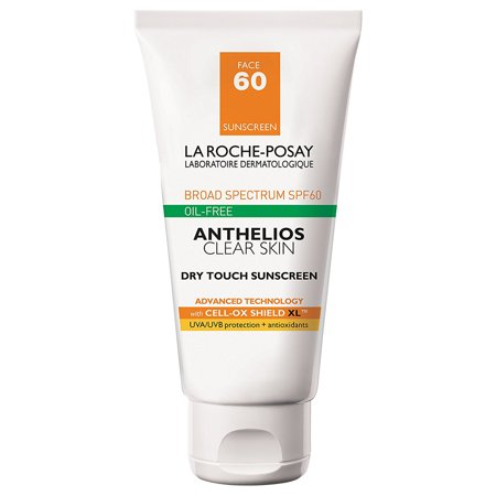 Laroche Posay Sun Protection Cream - La-Roche Posay Anthelios 60 Clear Skin Dry Touch Sunscreen 1.7 oz