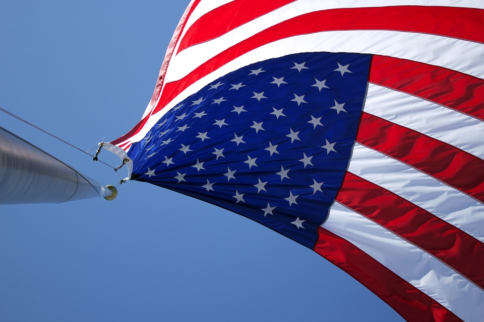 "American Patriotic 11/""x14/"" Highest Quality on the Market! USA Car Window Flag"