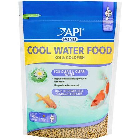 Api Aquarium Pharmaceuticals Inc 197D 1 4 Lbs Cool Water Food For Koi And Goldfish