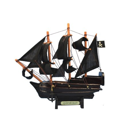 Pirate Ship Shape (Captain Kidd's Adventure Galley 7