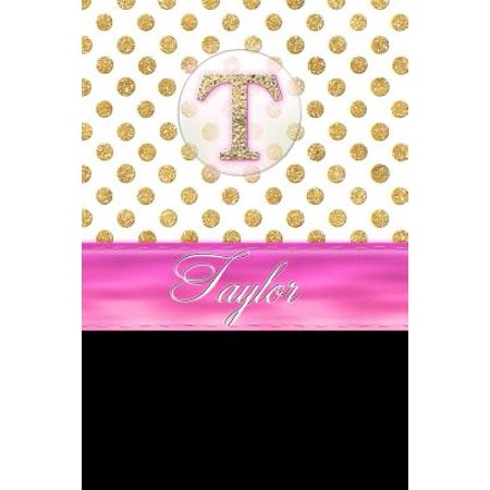 Taylor : Personalized Lined Journal Diary Notebook 150 Pages, 6