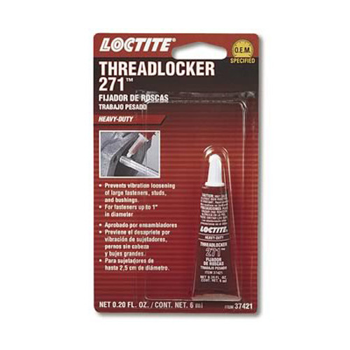 Loctite 37421 Threadlocker 271 - Heavy Duty