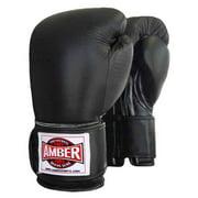 Professional Velcro Training Gloves in Black (16 oz.)