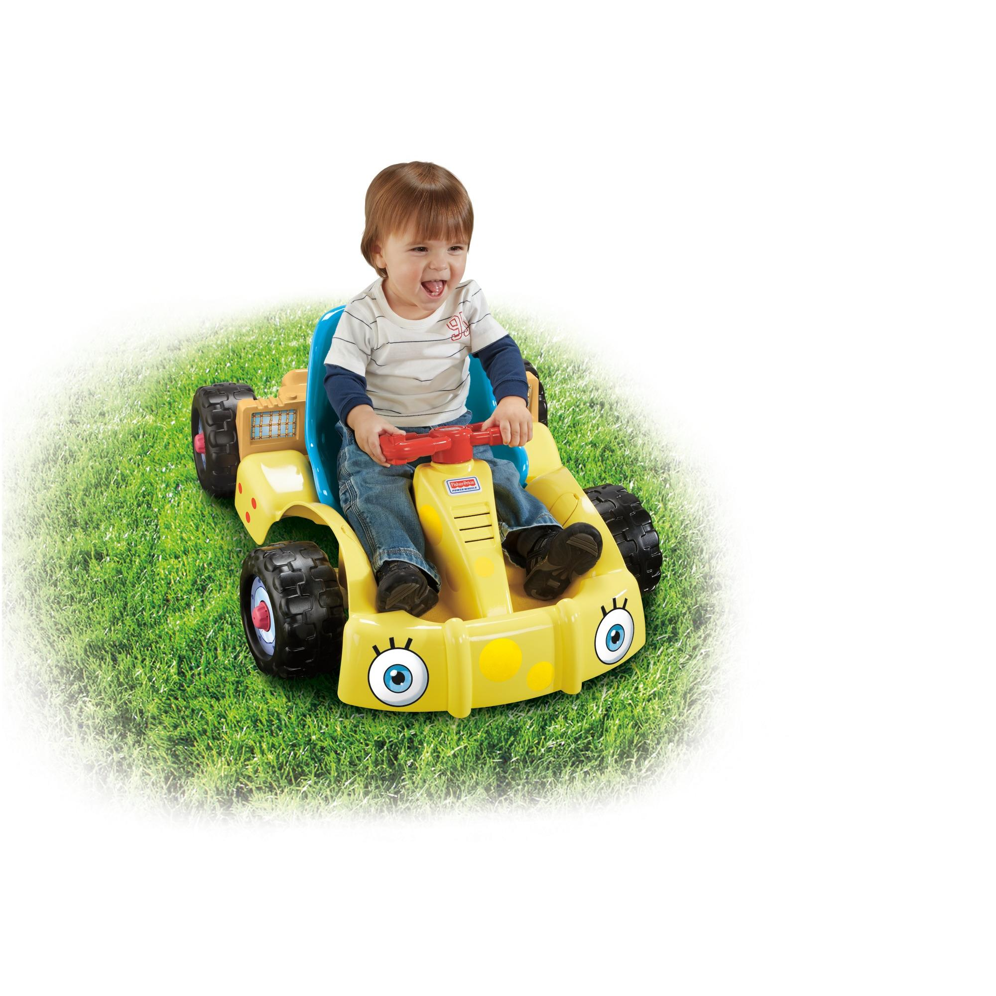 Power Wheels Spongebob Squarepants Get Set Go! Kart