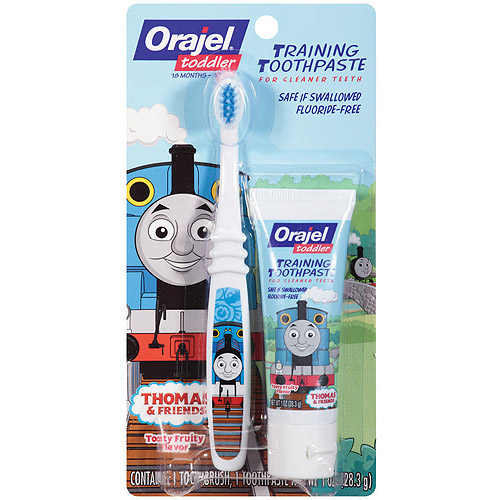 Thomas Toddler Training Toothpaste - Tooty Fruity, 1.0oz