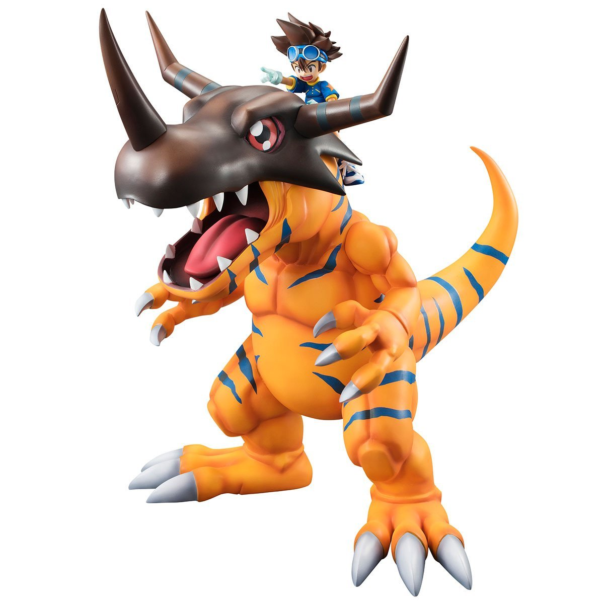 Greymon and Yagami Taichi G.E.M. Series PVC Figure Digimon Adventure by