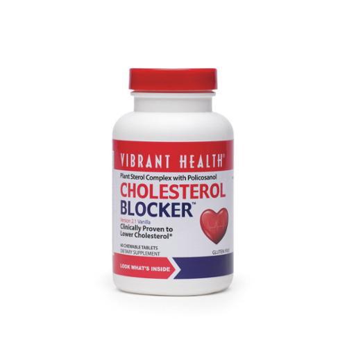 Cholesterol Blocker Vibrant Health 60 Chewable