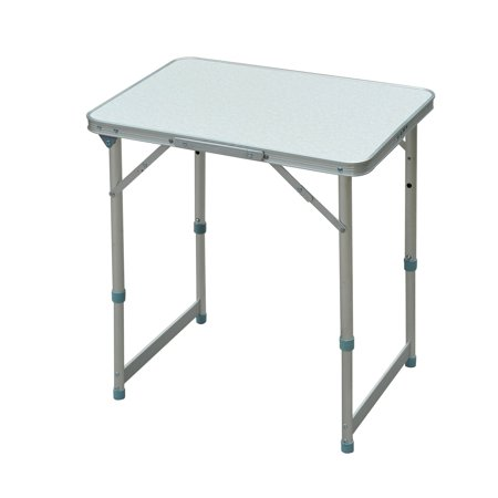 Outsunny Aluminum Folding Camping Table w/ Carrying Handle