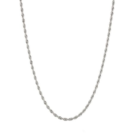 Metro Jewelry 4.0 mm Rope Chain Stainless Steel Metro Jewelry 4.0 mm Rope Chain Stainless Steel