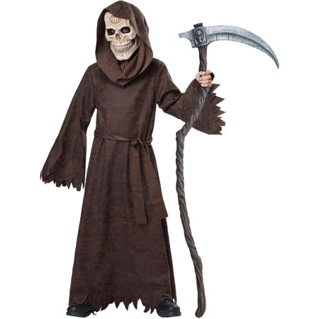 Ancient Reaper Child Halloween Costume, One Size, 10-12 (Ancient Druids Halloween)