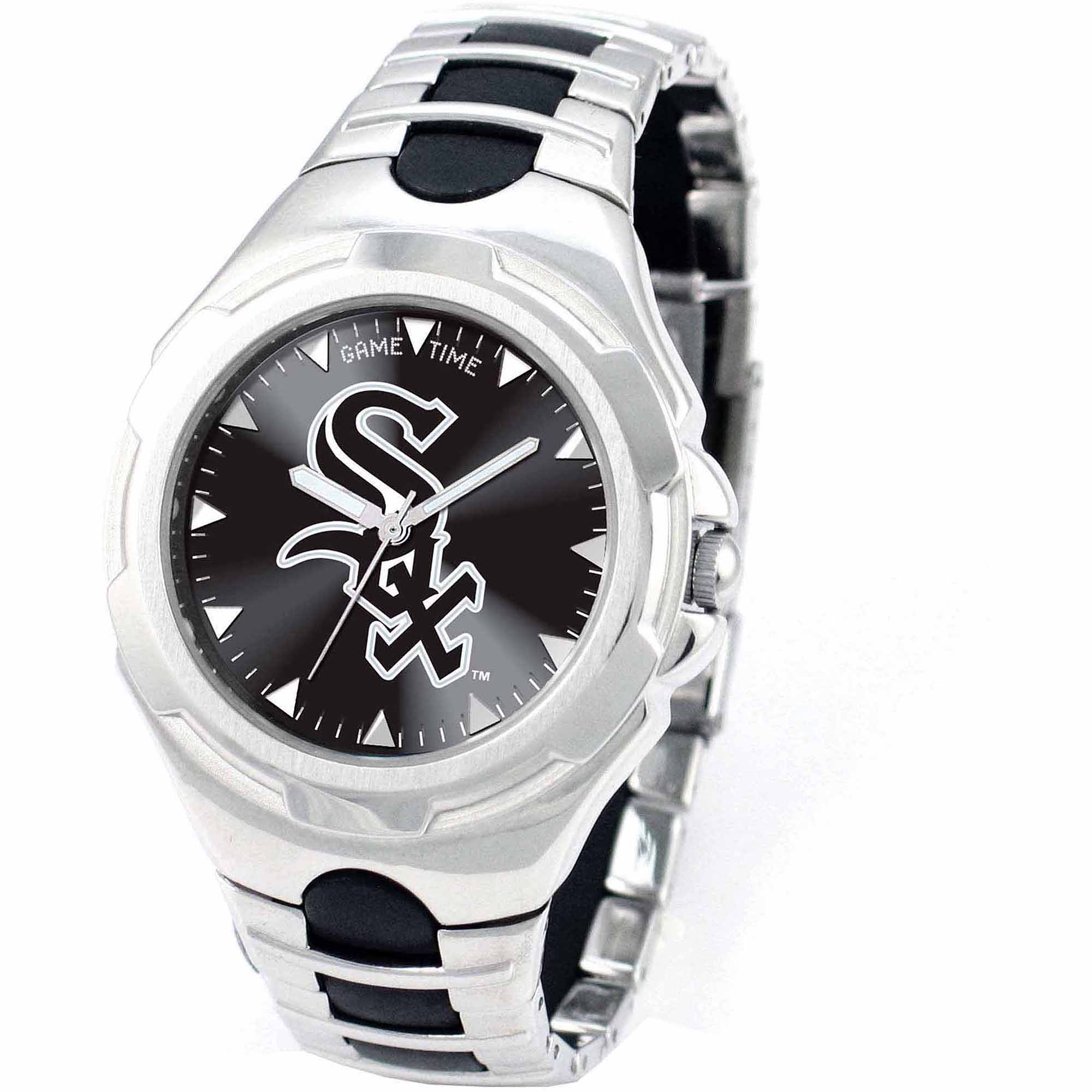 Game Time MLB Men's Chicago White Sox Victory Series Watch