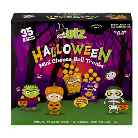 Utz Halloween Mini Cheese Ball Treats, 0.25 Oz.