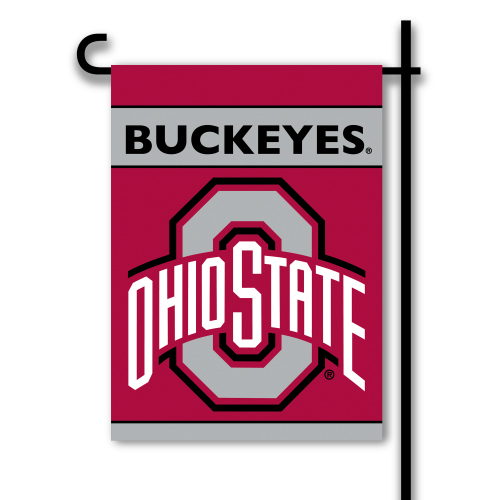 Ohio State 2 Sided Garden Flag (F)