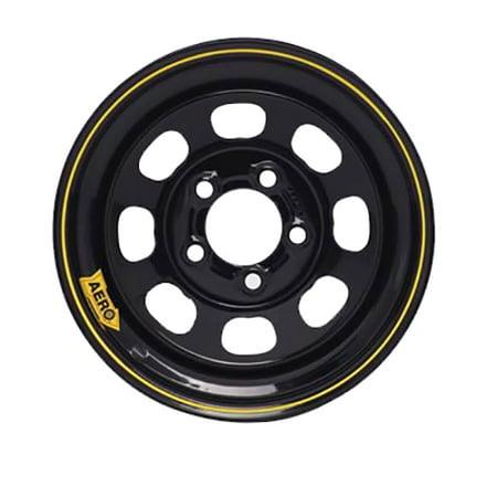 Aero 50 Series 15 Inch Race Wheel, 5x4.5 Pattern, 4 In. Backspace