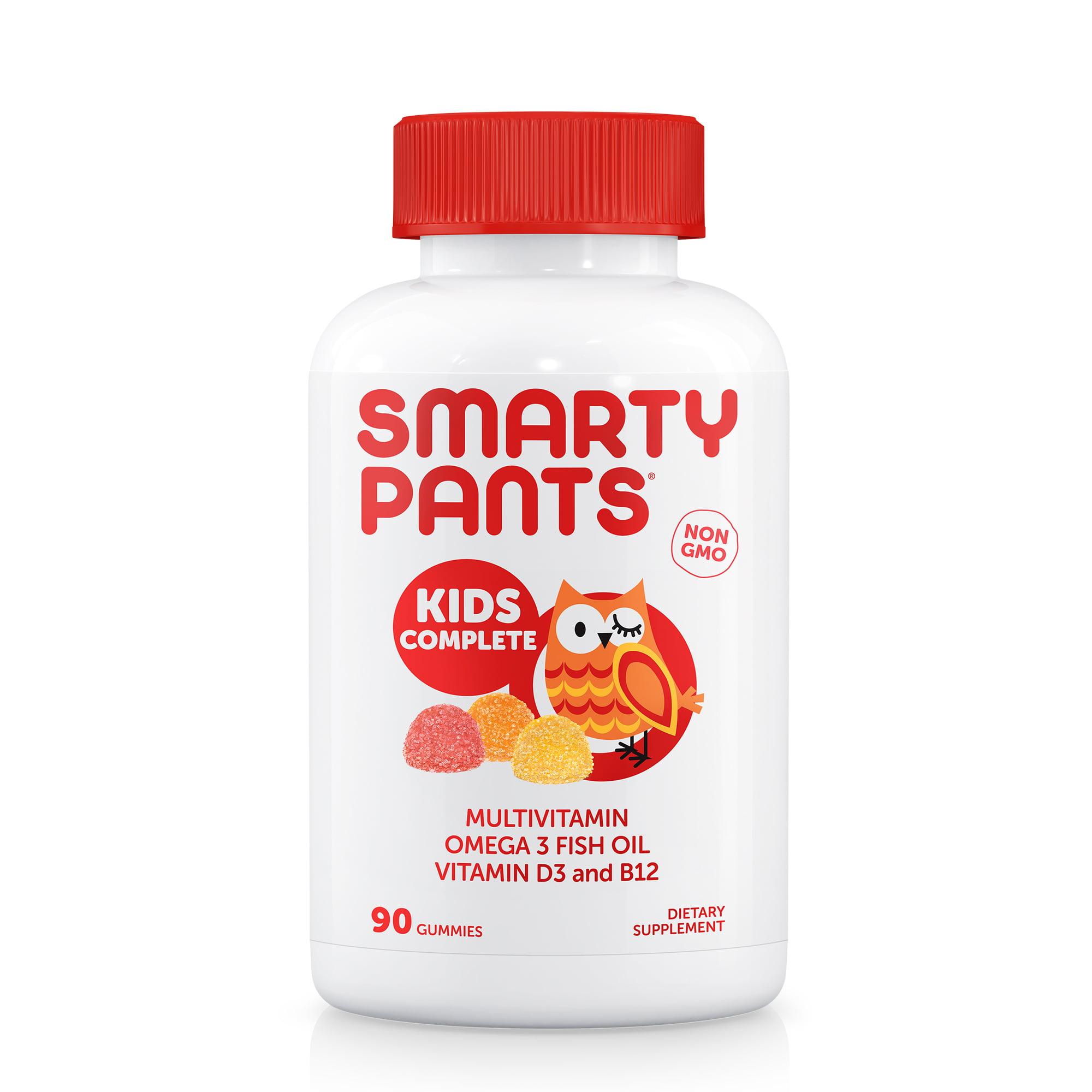 Smartypants Kids Complete Daily Gummy Vitamins: Gluten Free, Multivitamin & Omega 3...