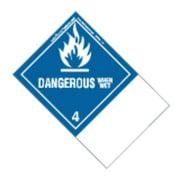 LABELMASTER ETHSNV23 Dangerous When Wet Label,100mmx150mm,500 G0271595