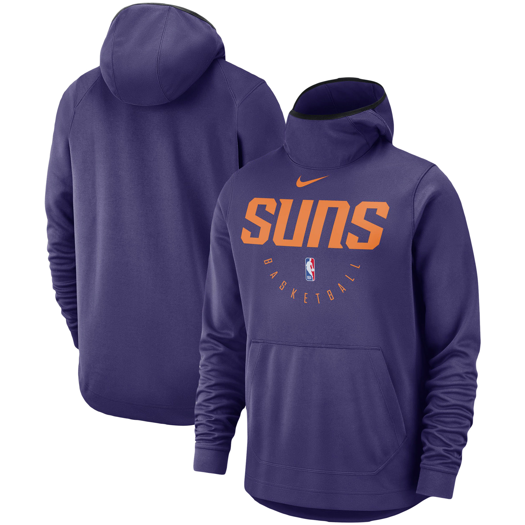 Phoenix Suns Nike Spotlight Performance Pullover Hoodie - Purple
