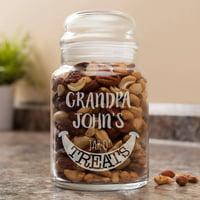 Jar O' Treats Personalized Glass Jar