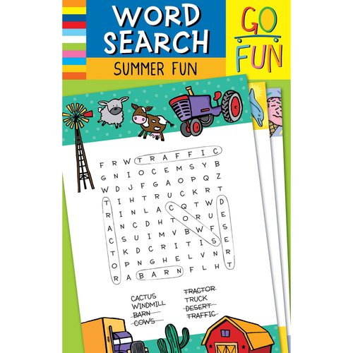 Word Search Summer Fun