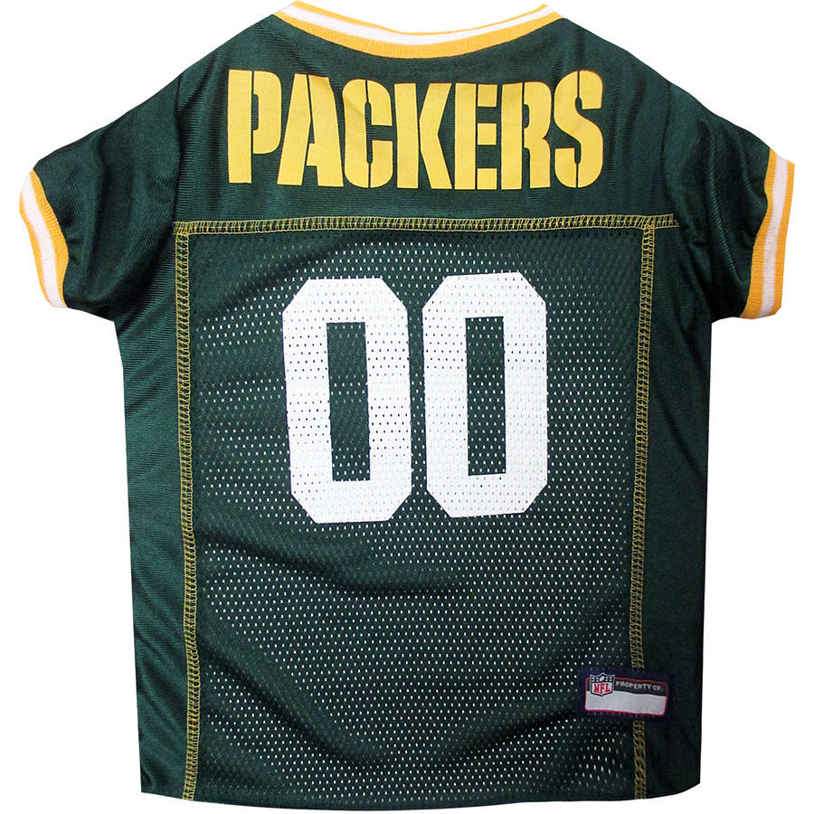 Pets First NFL Green Bay Packers Pet Jersey