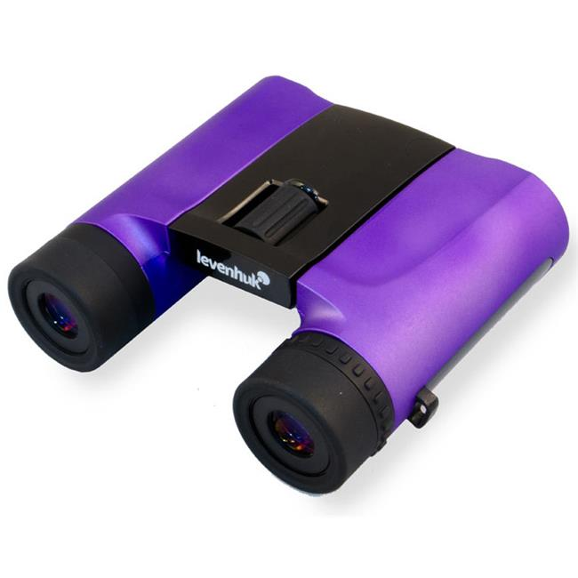 levenhuk 67694 rainbow 8x25 amethyst binoculars