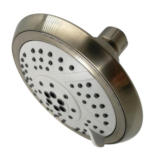 Kingston Brass KX1548 Modern Vilbosch 5 in. 5-Function Shower Head - Brushed Nickel