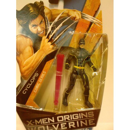 X-Men Origins Wolverine Comic Series 3 3/4 Inch Action Figure Cyclops, X-Men Origins: Wolverine 3 3/4 inch action figure collection from Hasbro By Toy Rocket From (Wolverine And The X Men Greetings From Genosha)